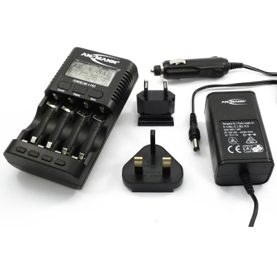 Ansmannn Powerline 4 Pro Traveller Battery Charger