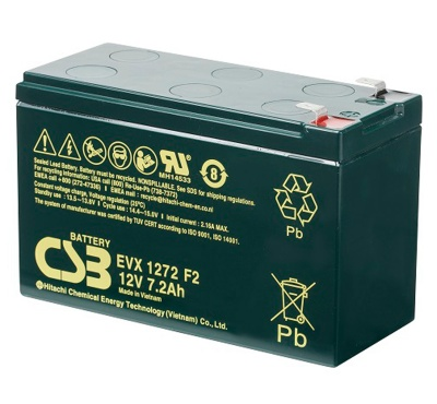 CSB EVX1272 F2  7.2Ah Cyclic Lead Acid Battery