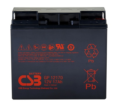 CSB GP12170 12V 17Ah Sealed Lead Acid Battery