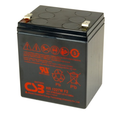 CSB HR1227W High Rate Discharge Battery