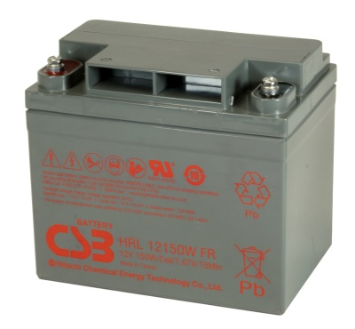 CSB HRL12150W 155W Sealed Lead Acid Battery