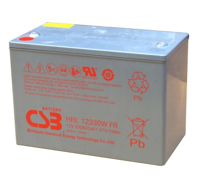 CSB HRL12330W 12V Sealed Lead Acid Battery