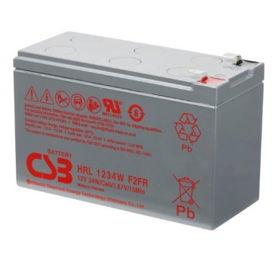CSB HRL1234W 12V 34W Lead Acid Battery