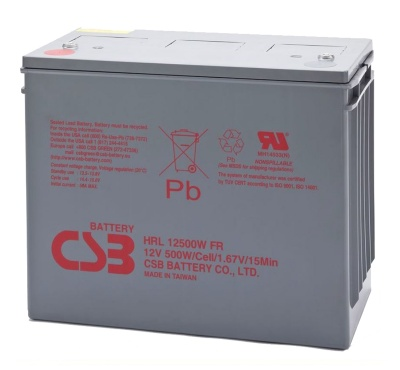 CSB HRL12500 12V Sealed Lead Acid Battery