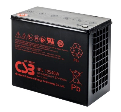 CSB HRL12540W Sealed Lead Acid battery