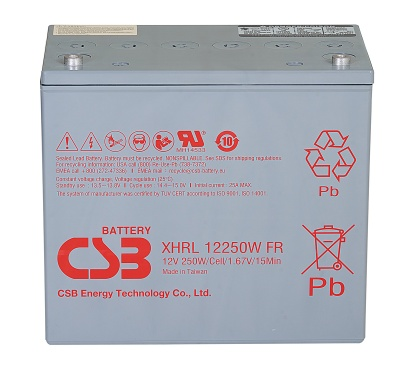 CSB XHRL12250W 250W Extreme High Rate Long Life Battery