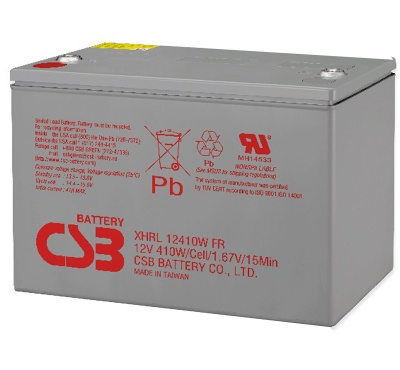 CSB XHRL12410W 410W Extreme High Rate Long Life Battery