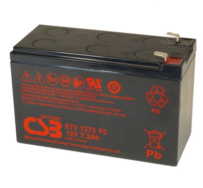 CSB XTV 1272 F2FR 12V Lead Acid Battery