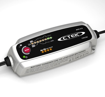 CTEK MXS5.0 5A Battery Charger/Maintainer