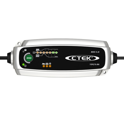 CTEK MXS 3.8 12V 3.8A Battery Charger & Maintainer