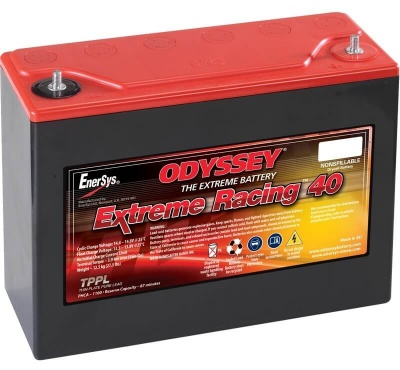Odyssey PC1100 Extreme Racing 40 Starter Battery