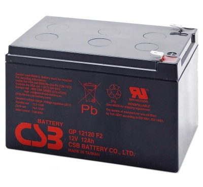 CSB GP12120 12V 12Ah Sealed Lead Acid Battery