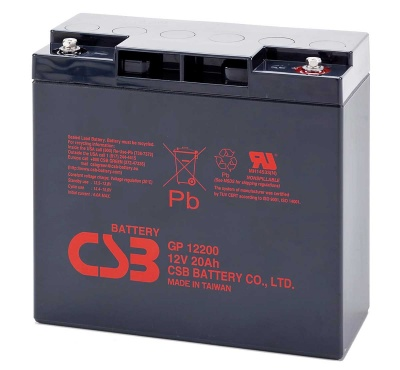 CSB GP12200 12V 20Ah Sealed Lead Acid Battery