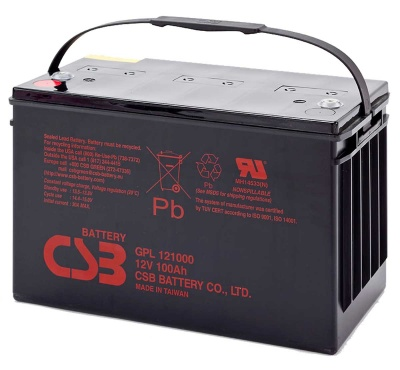 CSB GPL121000 12V 100Ah Lead Acid Battery