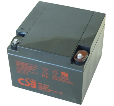 CSB GPL12260 12V 26Ah Sealed Lead Acid Battery