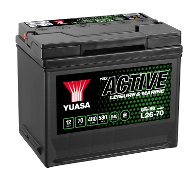 Yuasa YBX Active L26-70 Leisure Battery