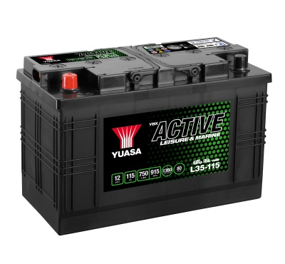 Yuasa YBX Active L35-115 Leisure Battery