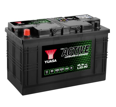 Yuasa YBX Active L35-90 Leisure Battery
