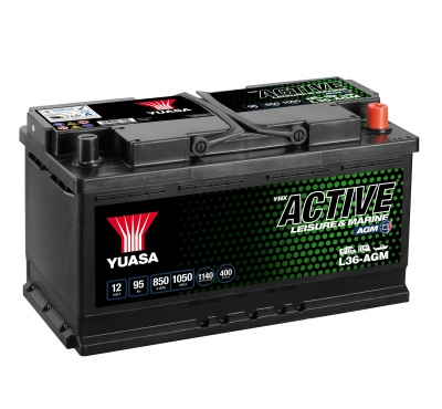 Yuasa YBX Active L36-AGM Leisure Battery