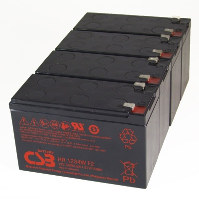 Battery Replacement Kit for MGE Pulsar Extreme 1500 UPS