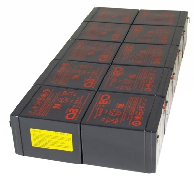 MDS143 UPS Battery Kit - Replaces APC RBC143