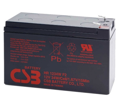 MDS17 UPS Battery Kit Compatible with APC RBC17