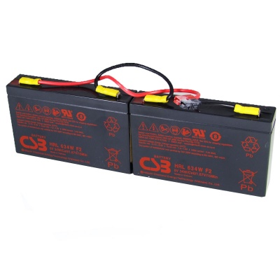 MDS18 UPS Battery Kit - Replaces APC RBC18