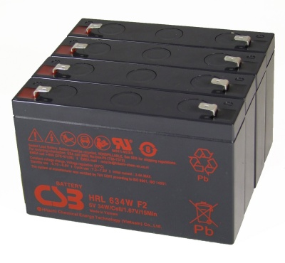 MDS34 UPS Battery Kit Compatible with APC RBC34