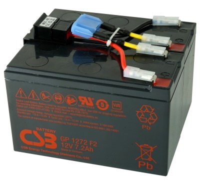 MDS48 UPS Battery Kit - Replaces APC RBC48