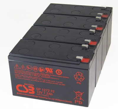 MDS59 UPS Battery Kit Compatible with APC RBC59