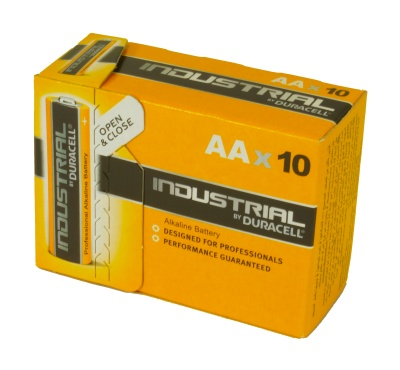 Duracell Industrial MN1500 AA Box 10 Alkaline Battery