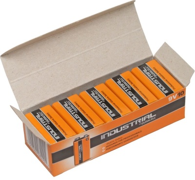 Duracell Industrial MN1604 9v PP3 Box of 10