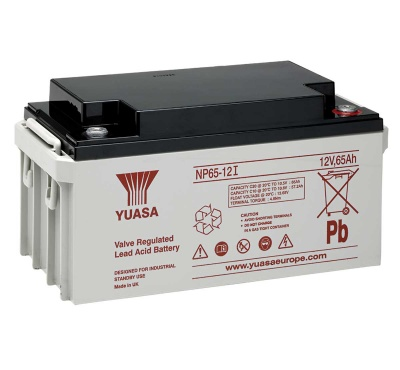NP65-12 12V 65Ah High Capacity SLA Battery