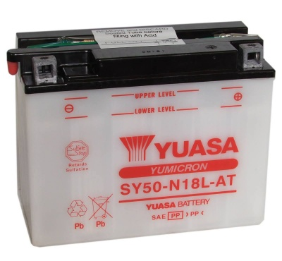 Yuasa SY50-N18L-AT 12V Motorbike Battery