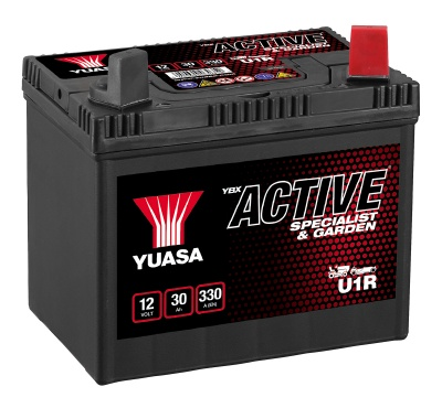 Yuasa YBX Active U1R Lawn Mower Battery