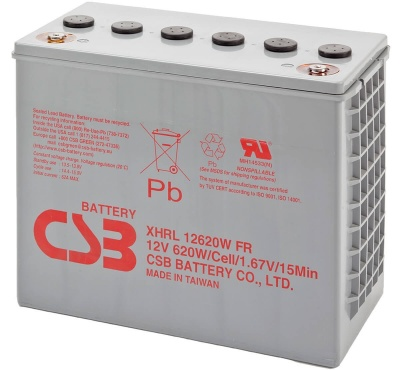 CSB XHRL12620W 620W Extreme High Rate Long Life Battery
