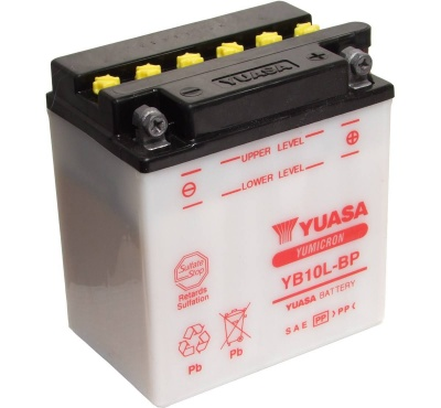 Yuasa YB10L-BP 12V Motorcycle Battery