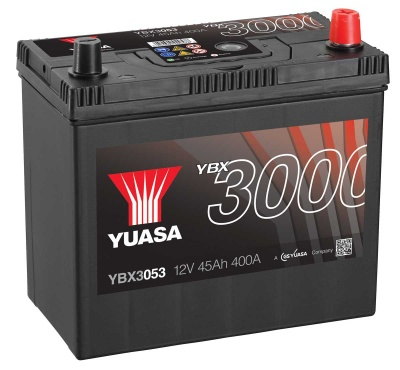 Yuasa YBX3053 053 Type 12V 45Ah Car Battery