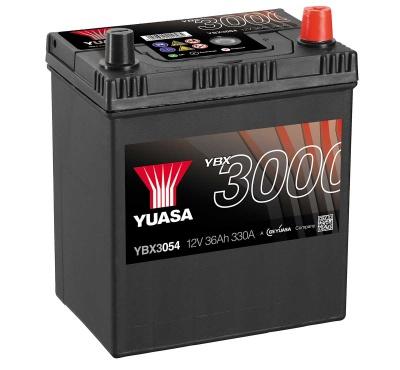 Yuasa YBX3054 054 Size 12V Sealed Car Battery