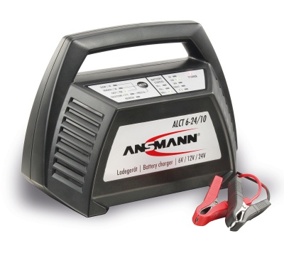 Ansmann ALCT 6-24/10 6V 12V 24V Automotive Charger