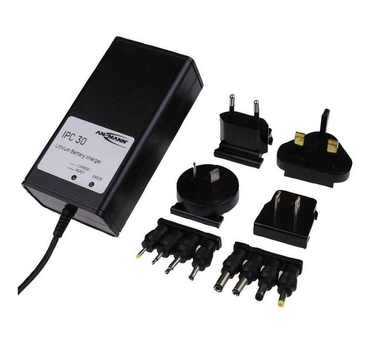 Ansmann IPC30 1S Type Li-ion Battery Charger 3.7V 1.5A