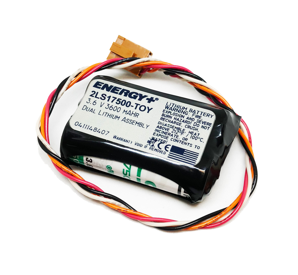 2 cell Kawasaki 4 wire Battery 2LS17500-TOY
