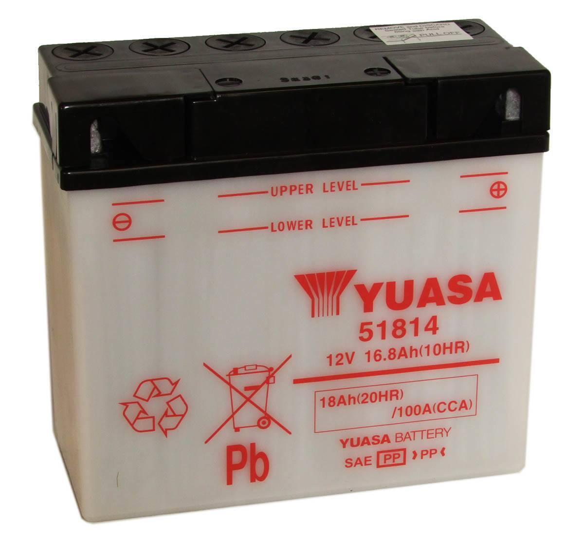 Yuasa 51814 12V BMW Motorcycle Battery
