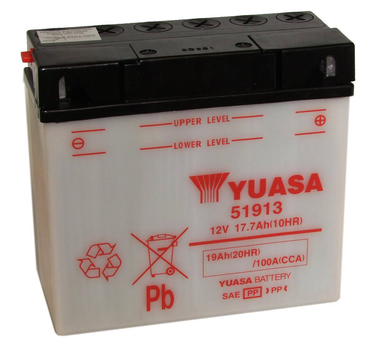 Yuasa 51913 12V BMW Motorcycle Battery