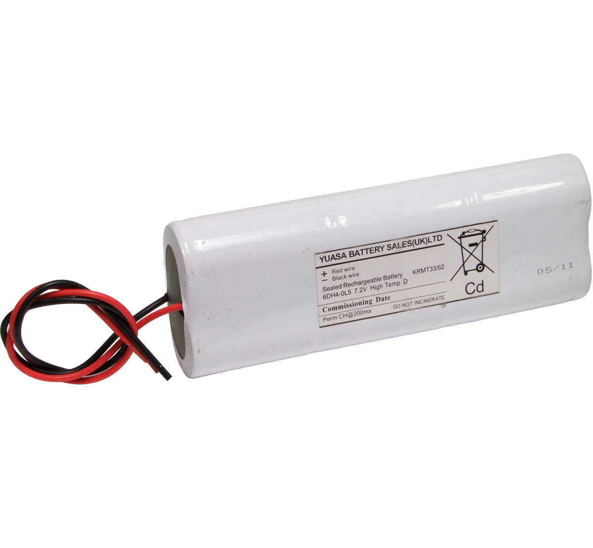 Yuasa 6DH4.0L5 Emergency Lighting Battery