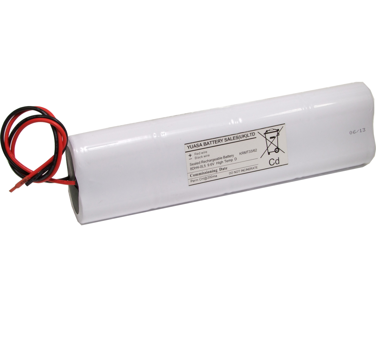 Yuasa 8DH4.0L5 Emergency Lighting Battery