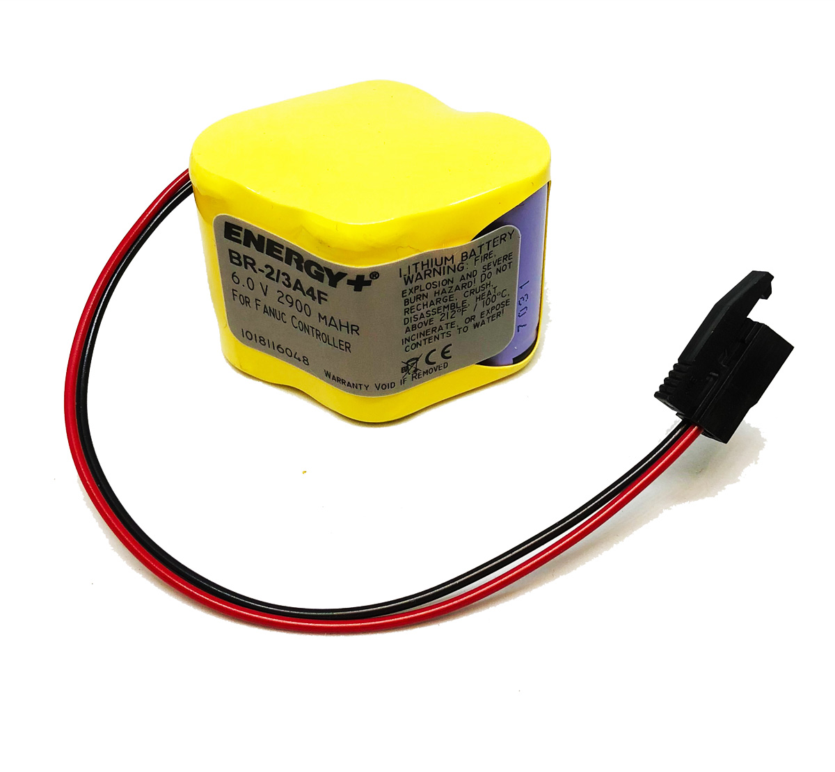 Fanuc Replacement PLC Battery BR-2/3A4F BR2/3A4F