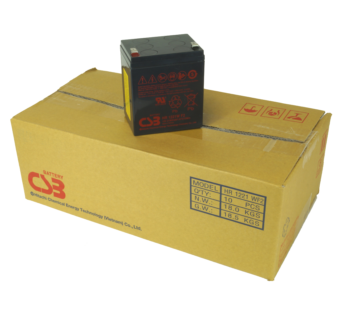 MDS134 UPS Battery Kit - Replaces APC RBC134