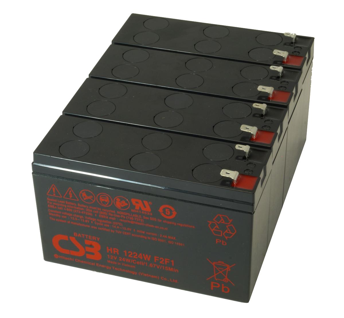 MDS1015 UPS Battery Kit for MGE AB1015