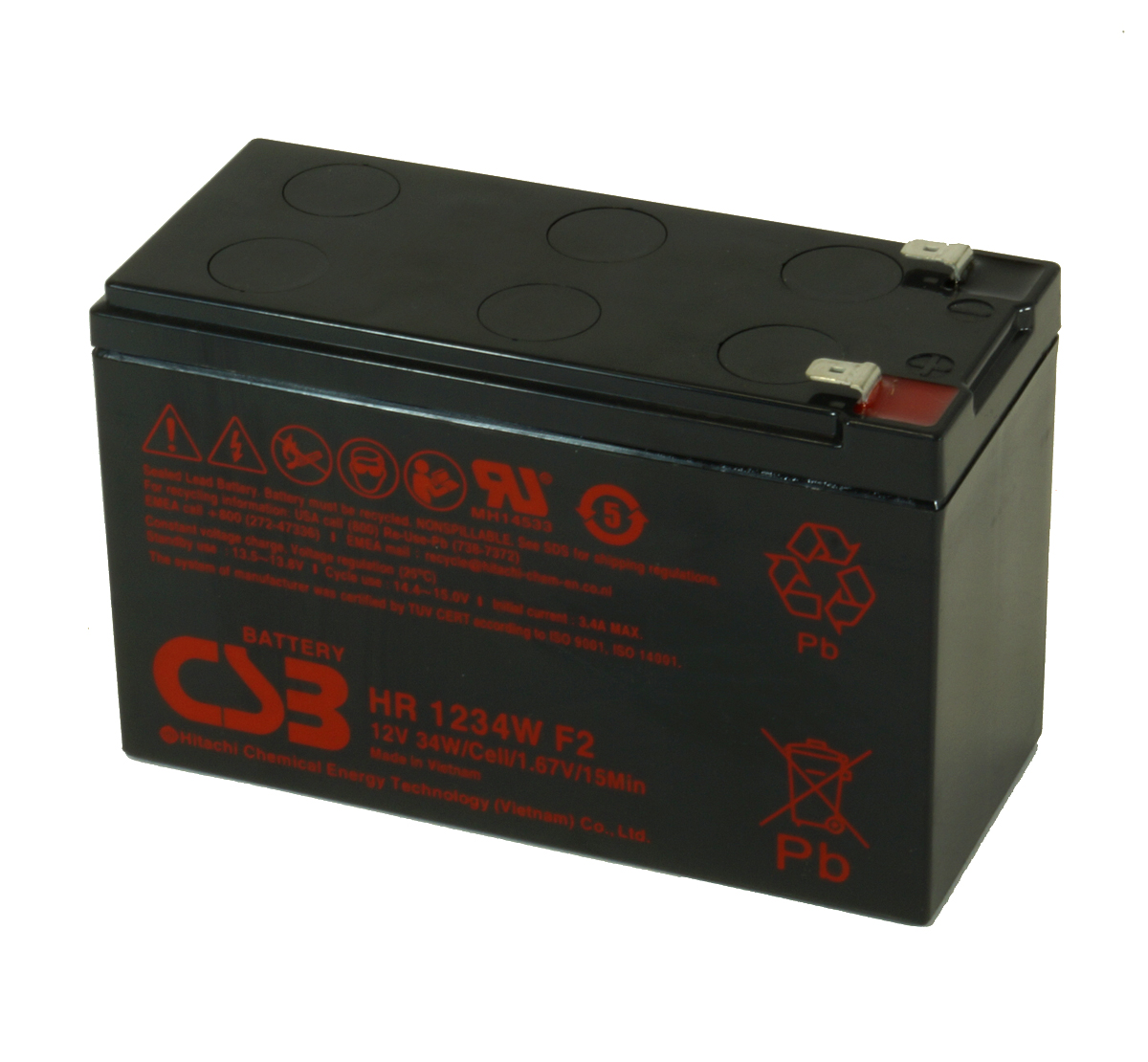 MDS2551 UPS Battery Kit for MGE AB2551